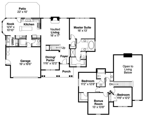 Associated Designs Fitzgerald Floor Plan Australian House Plans