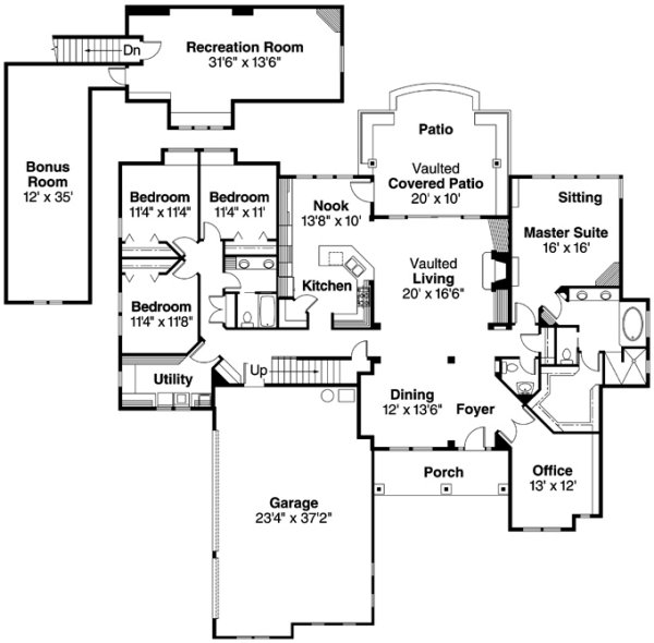 Associated Designs - Radisson Floor Plan - Australian House Plans