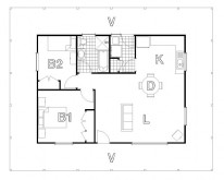 HUGHES design Coxs Homestead Floor Plan