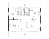 HUGHES design Coxs Ranch Floor Plan