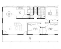 HUGHES design Cudgegong Cabin Floor Plan