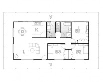 HUGHES design Cudgegong Homestead Floor Plan
