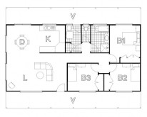 HUGHES design Cudgegong Ranch Floor Plan