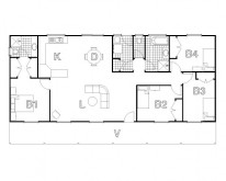 HUGHES design Duckmaloi Cabin Floor Plan