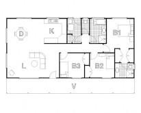 HUGHES design Lachlan Cabin Floor Plan