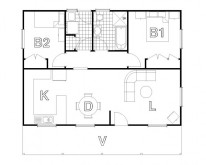 HUGHES design Macquarie Cabin Floor Plan