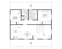 HUGHES design Macquarie Ranch Floor Plan