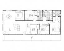HUGHES design Turon Cabin Floor Plan