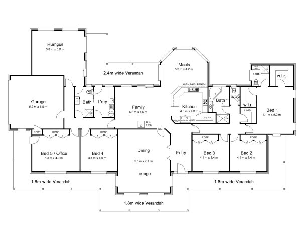 The Bourke Australian House Plans