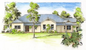 House Plans Brisbane on Plans    Buy House Plans    Australian Colonial    The Brisbane