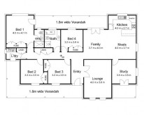 Hawkesbury Valley Homes Davidson Floor Plan