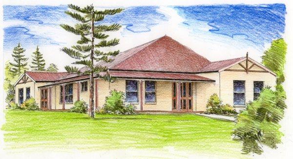 Australian house plans for Colonial home designs australia