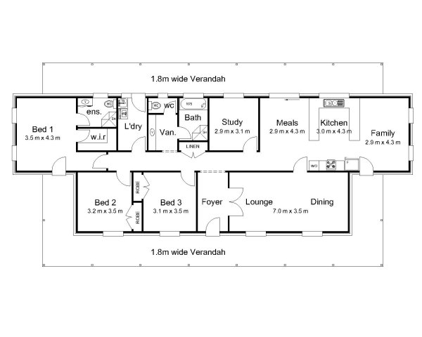 The King Australian House Plans