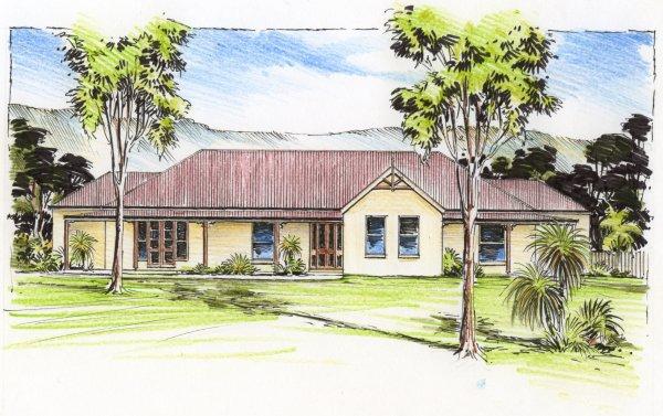 The Phillip Australian House Plans