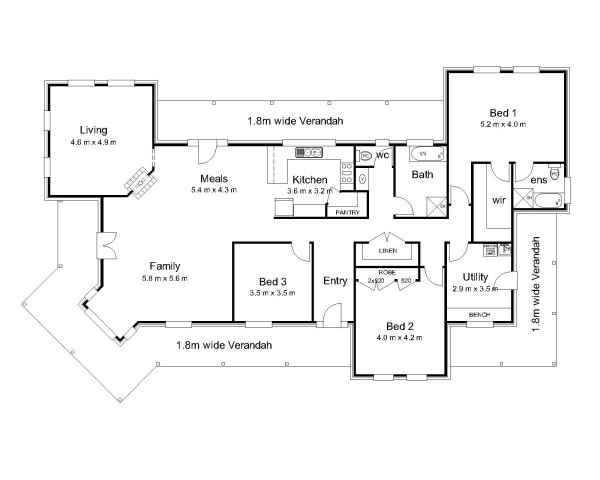 The Wilkinson Australian House Plans
