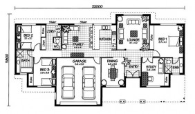 Australian House Plans Carlisle Floor Plan