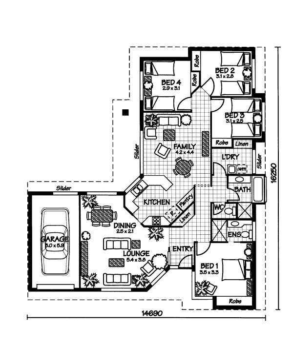 style project home designer select a plan bedrooms bathrooms garage ...