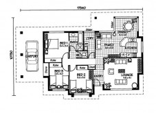 Australian House Plans Elliott Floor Plan