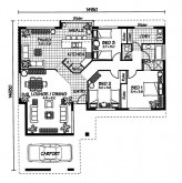 Australian House Plans Fitzroy Floor Plan