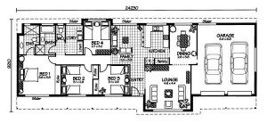 Australian House Plans Gloucester Floor Plan