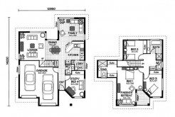 Australian House Plans Moreton Floor Plan