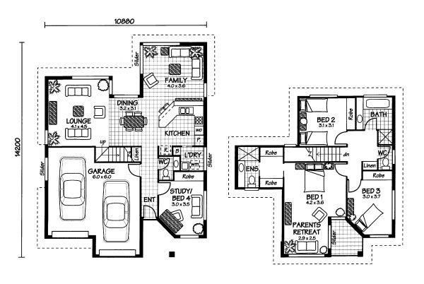 The Moreton Australian House Plans
