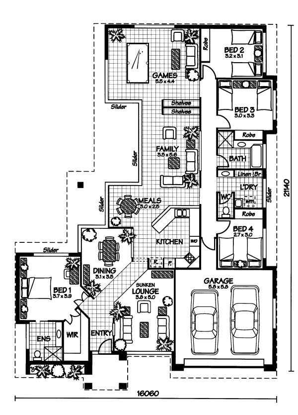 Australian House Plans Mornington Floor Plan