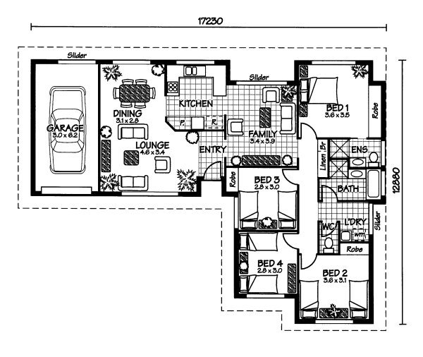 The Musgrave Australian House Plans