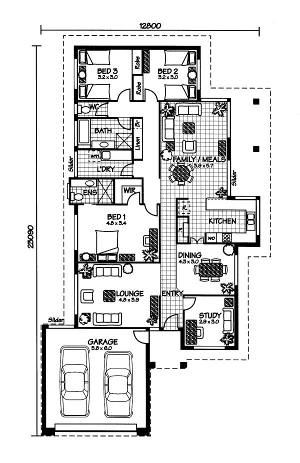 House plans and design house plans australia prices for House floor plans australia