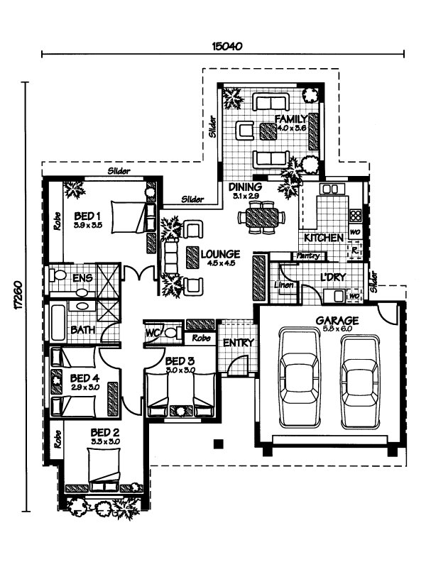the whitsunday 171 australian house plans