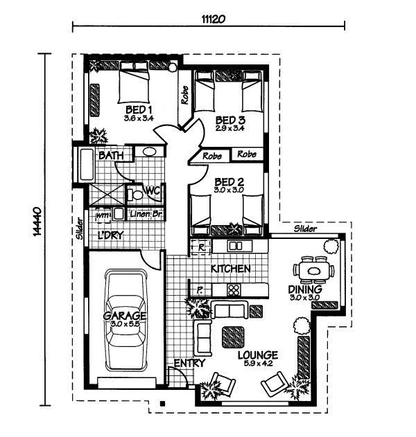 The Wistari Australian House Plans