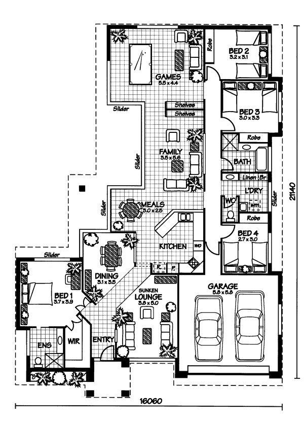 The Mornington « Australian House Plans